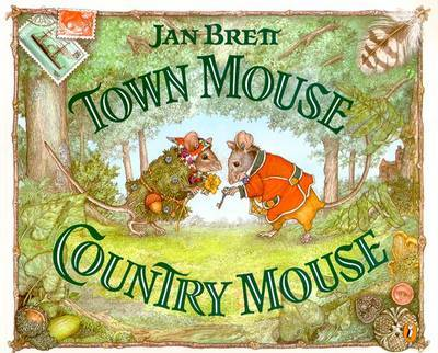 Town Mouse Country Mouse by Jan Brett image