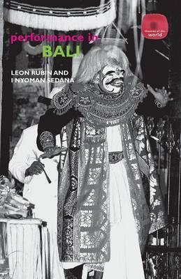 Performance in Bali by Leon Rubin image
