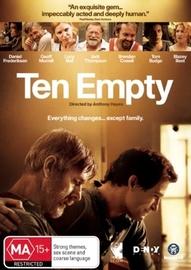 Ten Empty on DVD