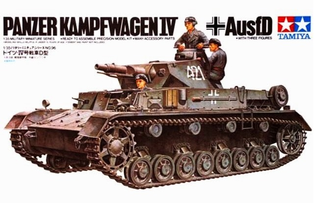 Tamiya 1/35 German Panther IV-D - Model Kit image