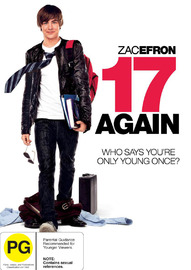 17 Again on DVD image