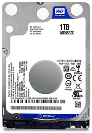 "1TB WD Scorpio Blue 2.5"" HDD 5400 RPM (Fits PS3+PS4)"