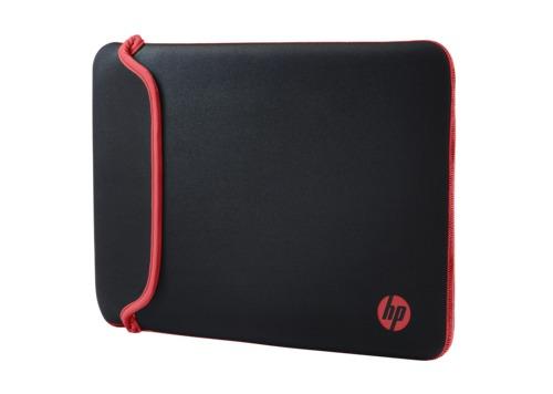 """HP 14"""" - Neoprene Sleeve (Black/Red)"""