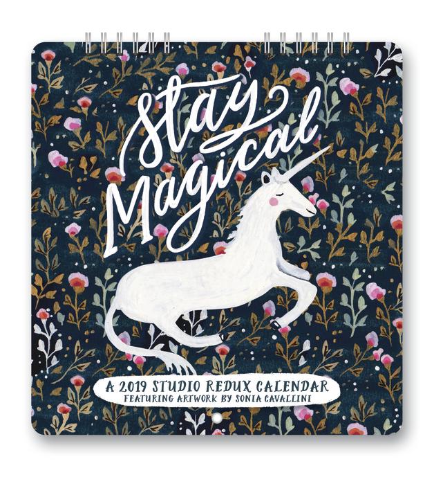 Studio Redux: Stay Magical 2019 Mini Wall Calendar