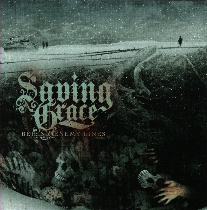 Behind Enemy Lines [Jewel Case] by Saving Grace image