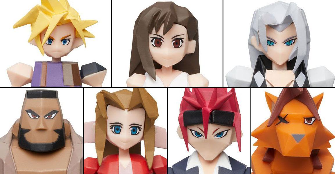 Final Fantasy VII: Polygon Figure - Blind Box image