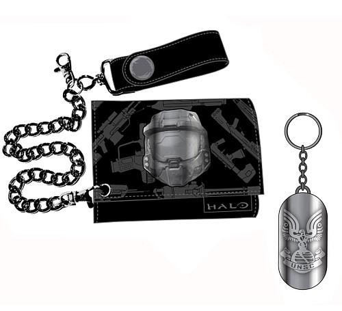 Halo Wallet + Keyring Box Set