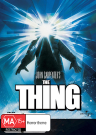 The Thing DVD image