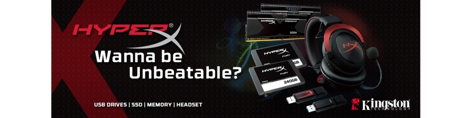 Mighty New Kingston PC Gaming  Gears!