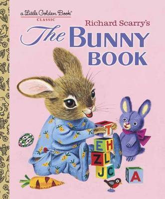 The Bunny Book by Patsy Scarry image
