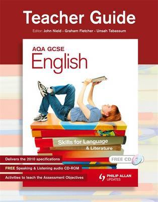AQA GCSE English: Skills for Language and Literature: Teacher Guide, Resource Pack by Graham Fletcher image