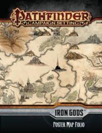 Pathfinder Campaign Setting: Iron Gods Poster Map Folio by Paizo Staff