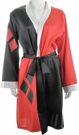 DC Comics: Harley Quinn - Satin Bathrobe