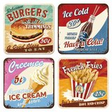 Say it 50's Coasters - American Diner