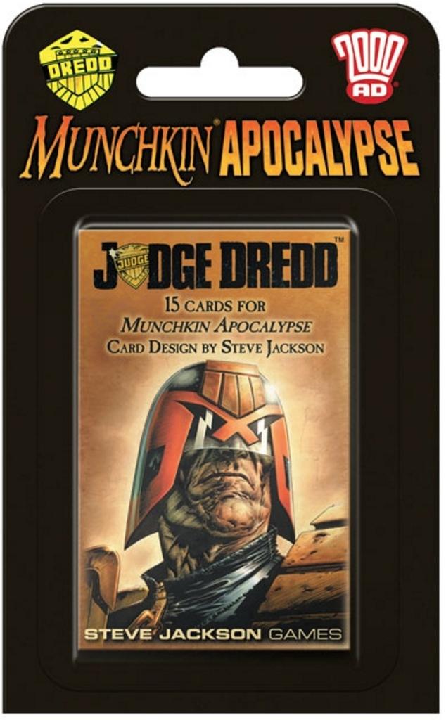 Munchkin: Apocalypse - Judge Dredd Expansion Set image