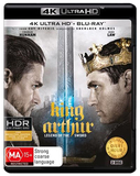 King Arthur: Legend of the Sword - 4K UHD + Blu-ray on Blu-ray, UHD Blu-ray