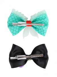 Neon Tuesday: The Little Mermaid - Hair Bow 2 Set