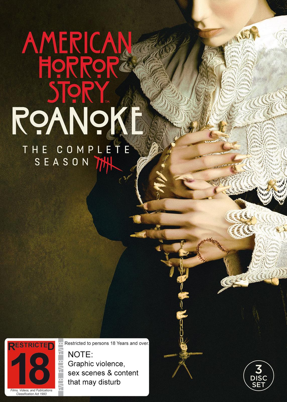 American Horror Story: Roanoke (Season 6) on DVD image