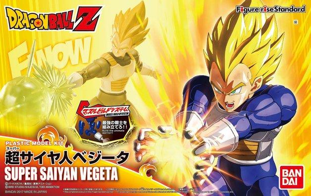 Dragon Ball: Figure-rise: SS Vegeta - Model Kit