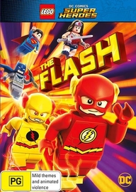 LEGO DC Super Heroes: The Flash on DVD