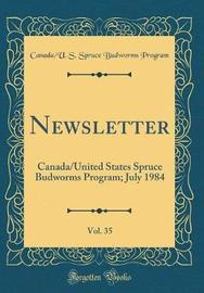 Newsletter, Vol. 35 by Canada/U S Spruce Budworms Program image