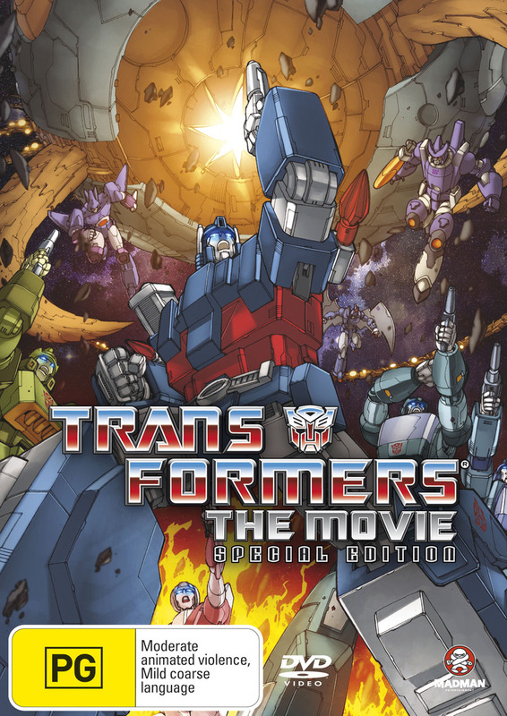 Transformers - The Animated Movie: Special Edition 1986 (2 Disc Set) on DVD