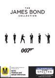 The James Bond Collection DVD