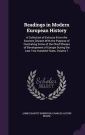 Readings in Modern European History by James Harvey Robinson