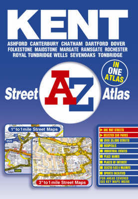 A-Z Kent Street Atlas by Great Britain image