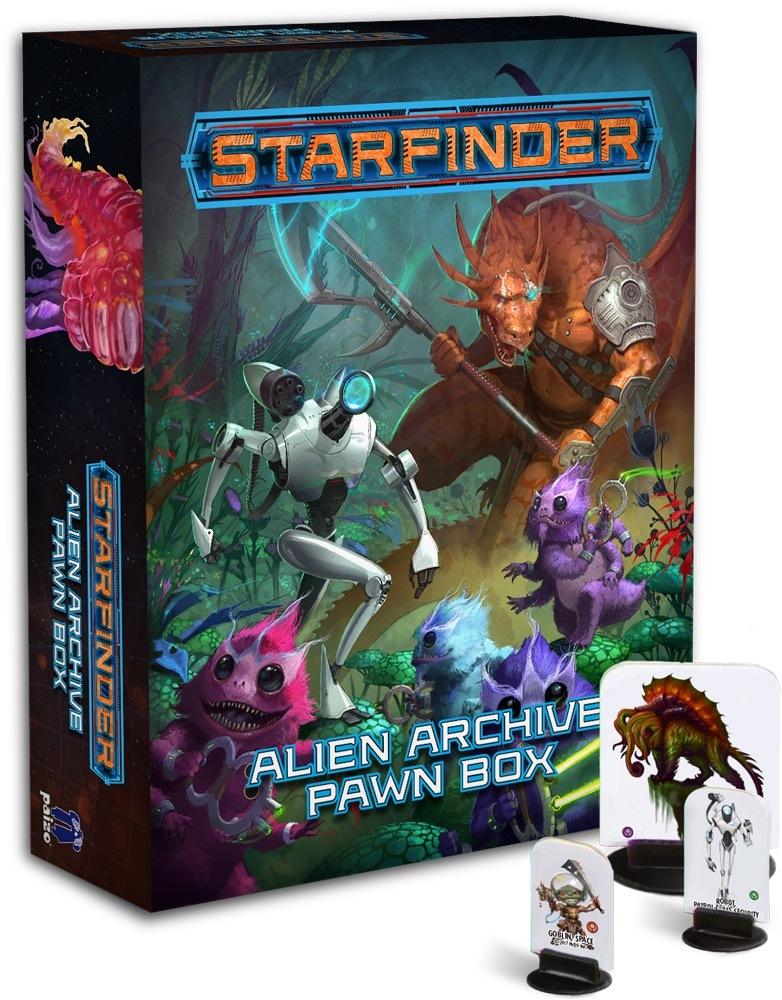 Starfinder RPG: Alien Archive - Pawn Box image