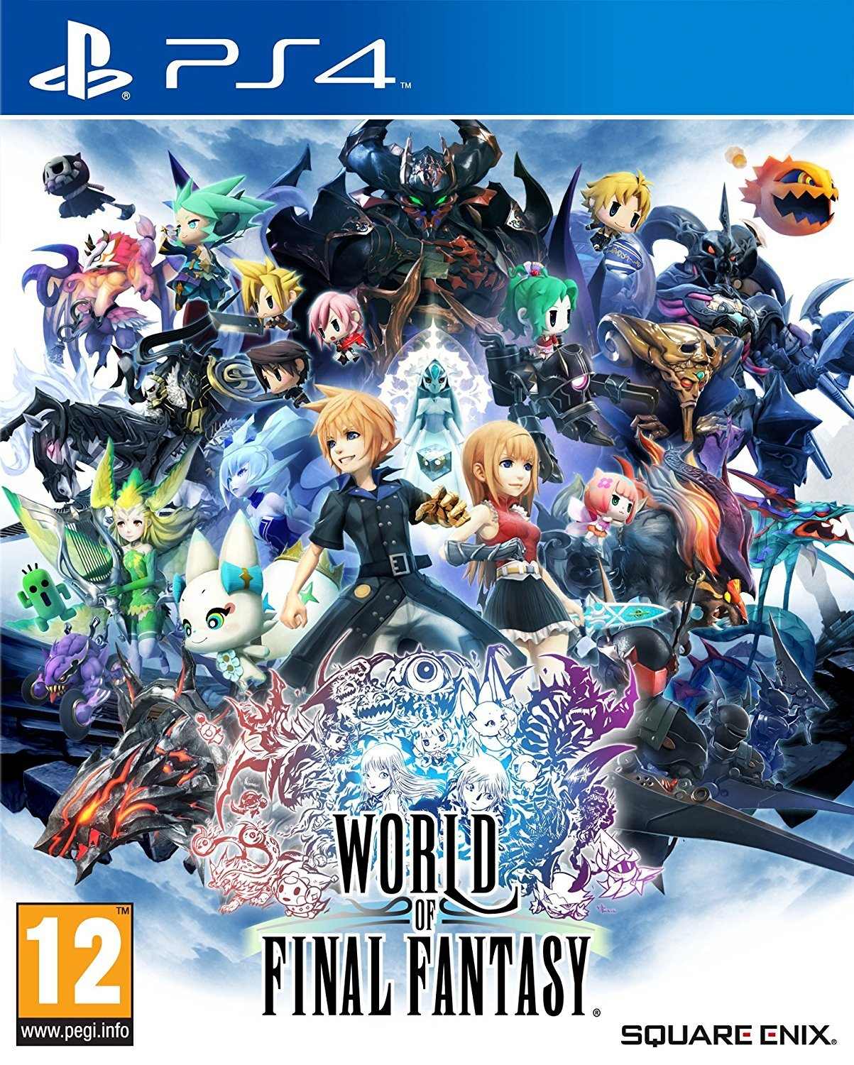 World of Final Fantasy for PS4 image