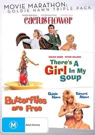 Movie Marathon: Goldie Hawn Triple Pack on