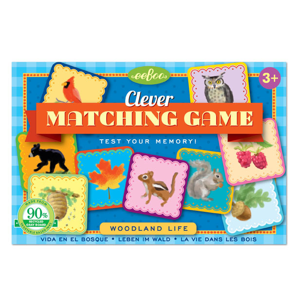 eeBoo: Woodland Life - Clever Matching Game