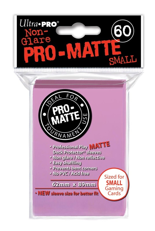 Ultra Pro: Deck Protectors Pro-Matte Small Pink (60)