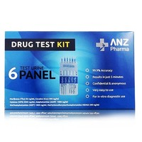 ANZ Pharma - 6 Test Urine Panel Drug Test Kit