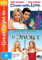 Down With Love / Le Divorce - Great Night In (2 Disc Set) on DVD