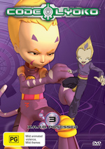 Code Lyoko - Vol. 3: X.A.N.A. Possessed on DVD