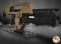 Aliens - M41A1 Pulse Rifle (Weathered) - Prop Replica