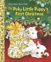 The Poky Little Puppy's First Christmas Board Book by Justine Korman