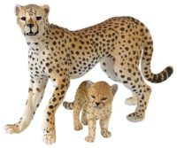Papo - Cheetah with Cub