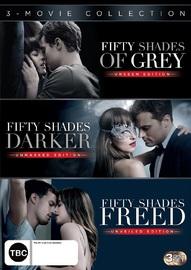 Fifty Shades Triple Box Set on DVD