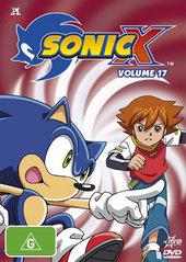Sonic X - Volume 17 on DVD
