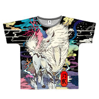 Monster Hunter: World Full Graphic T-Shirt B-Side Label Kirin L image