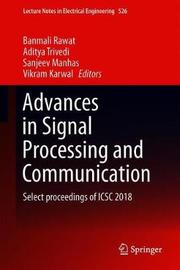 Advances in Signal Processing and Communication