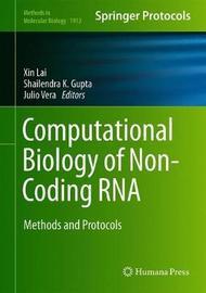 Computational Biology of Non-Coding RNA
