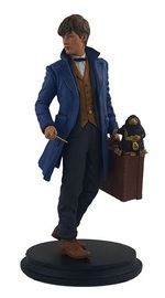 "Fantastic Beasts: Newt with Niffler - 8.5"" Collectors Statue"