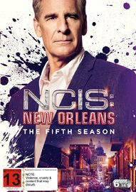 NCIS: New Orleans - Season 5 on DVD image