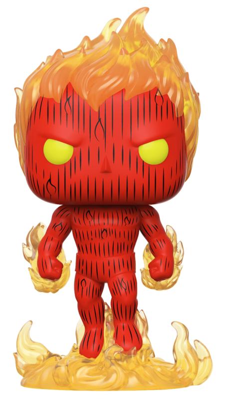 Fantastic Four: Human Torch - Pop! Vinyl Figure