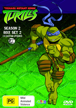 Teenage Mutant Ninja Turtles (2003) - Season 2: Box Set 2 (3 Disc Box Set) on DVD