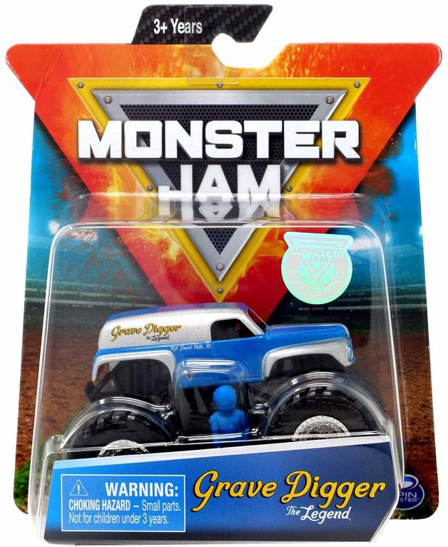 Monster Jam: 1:64 Scale Diecast Truck - Grave Digger: The Legend